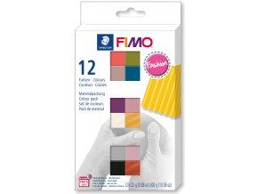 FIMO soft sada 12 barev 25 g FASHION