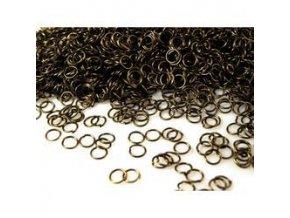 Spojovací kroužky pr.8 mm (50-1000ks) - staromosaz