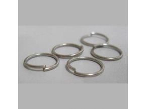 Spojovací kroužky pr.10 mm (50-1000ks) - platina
