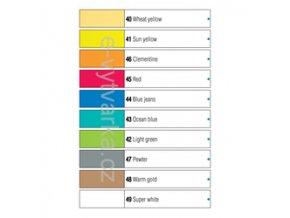 Barva na sklo Pébeo Vitrail, neprůhledná (45 ml) - 10 odst.