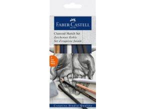 Goldfaber Charcoal faber-Castell, 7ks