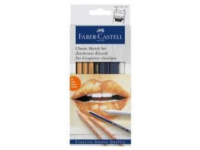 Goldfaber Charcoal faber-Castell, 6ks