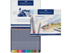 Akvarelové pastelky Faber-Castell Goldfaber Aqua 24ks