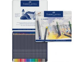Pastelka Faber-Castell Goldfaber v plechu 24ks