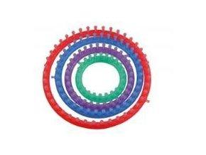 Pomůcka pro pletení Hoooked - kruhová (4 ks, pr.14-29 cm)