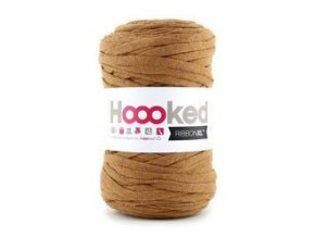 Hoooked RibbonXL - Caramel Brown (120 m)