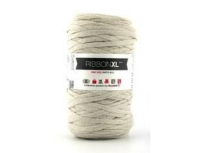 Hoooked RibbonXL - Creme (120 m)