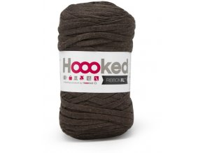 Hoooked RibbonXL - Tabacco Brown (120 m)