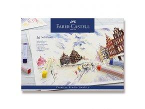 Pastelové křídy FABER-CASTELL - 36 ks