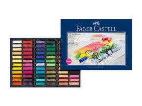 Měkké křídy Mini Faber-Castell 72ks