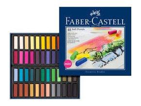 Měkké křídy Mini Faber-Castell 48ks