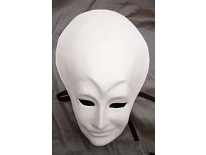 Odlitek Benátská maska č.5 Powertex, 28x29 cm