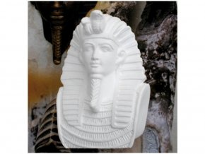 Odlitek Tutanchamon Powertex, 9 cm, poloviční