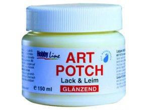 Art Potch lepidlo a lak pro decoupage - lesklé (150 ml)