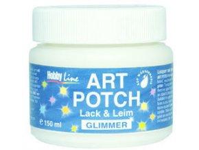 Art Potch lepidlo a lak pro decoupage - glitrové (250 ml)