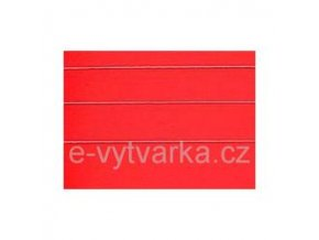 Papír na enkaustiku A5 červený (24 listů)