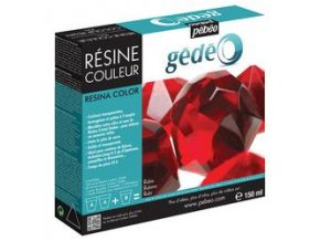 Křišťálová pryskyřice GEDEO (Pébeo) - sada 150 ml Ruby