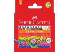 Voskovky Klaun Faber-Castell 24 ks
