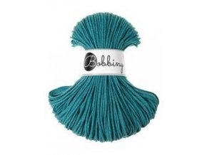 BOBBINY ŠŇŮRY JUNIOR - 3mm - TEAL