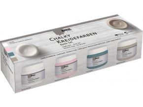 Sada Křídová barva CHALKY PAINT 4 barvy po 150 ml