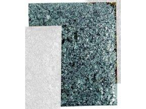 Tepané kovové vločky Home Design ART DECO - stříbrná