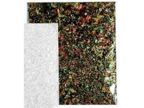 Tepané kovové vločky Home Design ART DECO - barevný mix