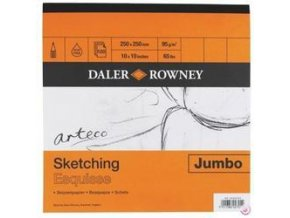 Blok Daler-Rowney Sketching - 250x250mm (95 g/m2, 120 archů)