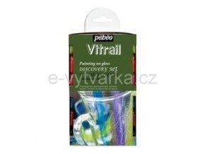 Sada Pébeo Vitrail Discovery (12 ks)