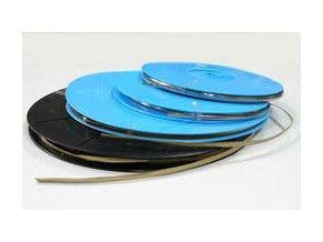Samolepící olověná vitrážní páska oblá 3mm (25 m)