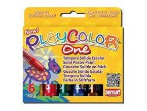 Playcolor temperové barvy 6ks