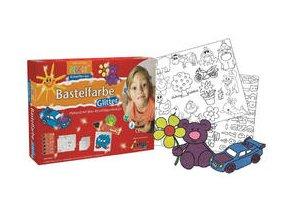 Sada glitrových per pro děti C-KREUL Mucki (6 barev)