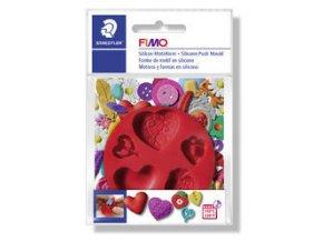 FIMO Silikonová vytlačovací forma - 8 druhů