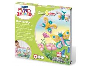 Sada Fimo kids Form & Play Motýlci