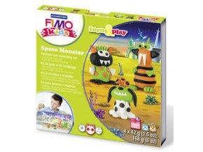 Sada Fimo kids Form & Play Vesmírné příšerky