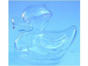 Plastová kačenka dvoudílná; 10 cm AKCE