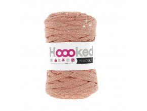 Hoooked RibbonXL - Lurex Rose Gold Glitter (85 m)