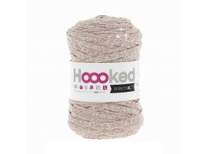 Hoooked RibbonXL - Lurex Cristal White Glitter (85 m)
