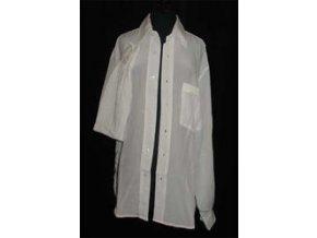 Košile s dlouhým rukávem - Krepdešín 14