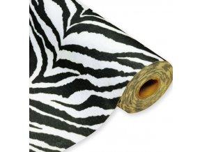 Filc / plsť šíře 45 cm zebra, 1m