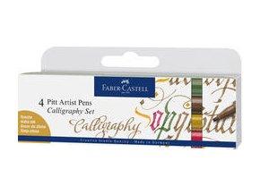 Popisovač Pitt Artist Pen Calligraphy, 6ks