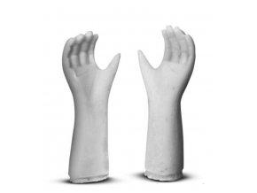 Odlitek mužské ruce Powertex, 7 cm