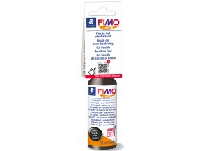 FIMO LIQUID Deco gel 50ml - ČERNÝ