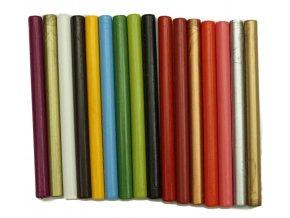 Sada 7 mm barevných pečetních vosků -16ks