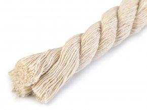 Bavlněná šňůra kroucená Ø15mm (1m) - natural