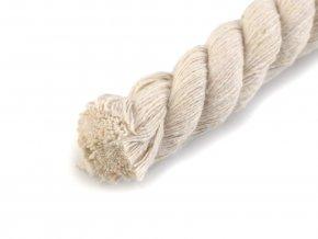 Bavlněná šňůra kroucená Ø18mm (1m) - natural
