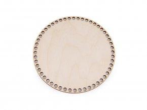Dno k háčkování 6,5mm dírky - kruh, ovál, čtverec