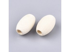 Dřevěné oválky 20x12mm (10ks)