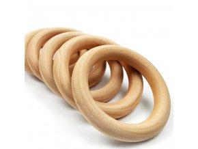Dřevěný kroužek VELKÝ 100mm (1ks)