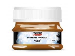 Pigmentový pudr metalický 5 g MĚDĚNÁ