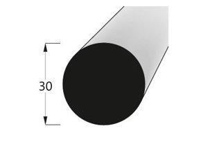 Dřevěná tyč na vázaní macramé - buk pr. 30mm